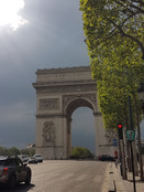 L'Arc de Triomphe.