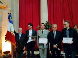 Remise du Prix Littéraire.