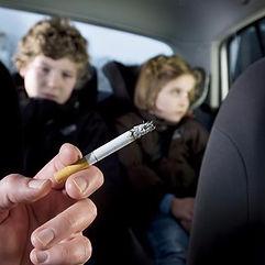 Smoking-in-car