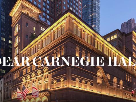 Dear Carnegie Hall: Utilising Digital Technologies to Unlock Multiple Perspectives of the Past