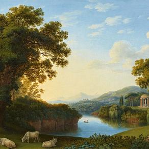 Landscape Composite: Remediating Landscape Paintings through Visual Effects