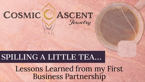 Spilling a Little Tea, Lessons Learned from my First Business Partnership