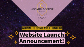Welcome to Cosmic Ascent & Cosmic Ascent Jewelry