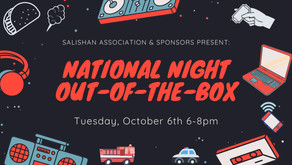 Salishan Association and Cosmic Ascent LLC. Virtual Night Out of The Box Collaboration is a HIT!