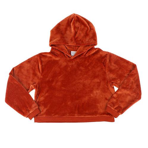 Burnt Orange Pullover Hoodie