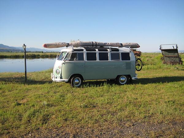 VW microbus, volkswagon van