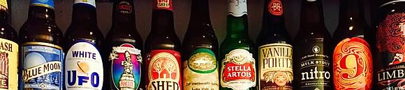 Craft Brewed Bottles & Cans