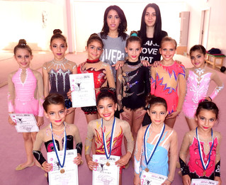 Μεγάλες Επιτυχίες για τη Ρυθμική Γυμναστική του συλλόγου του τόπου μας Απολλώνια Χανίων.