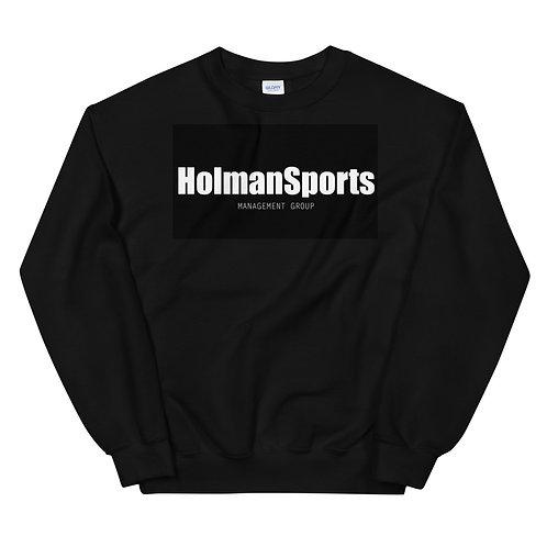 Holman Sports - Black Unisex Sweatshirt