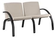 Sofa conjugado com estrutura de Ferro ou Polipropileno