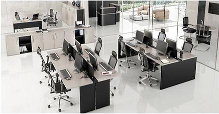 Plataformas de Trabalho Frente/Verso, Estação de Trabalho, Mesas Operativas, Mesas Plataformas