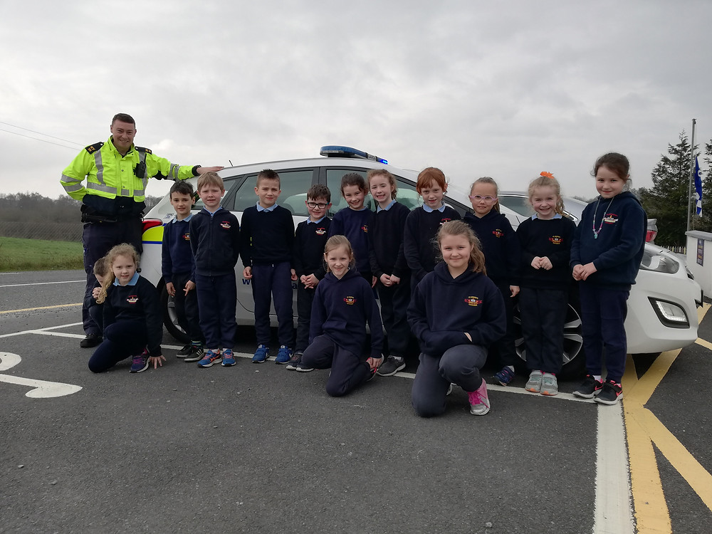 1st & 2nd Class with Garda Mick Toland