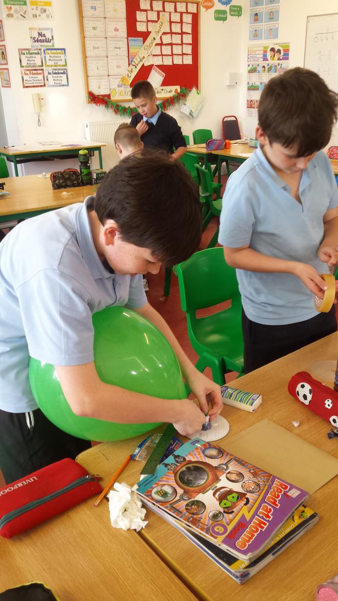 Creating Hovercrafts!