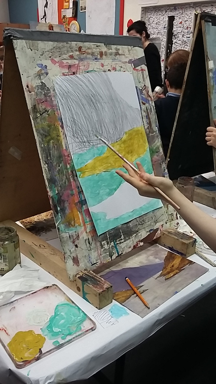 Art Workshop at the Linenhall