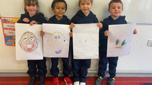 Self Portraits by Infants