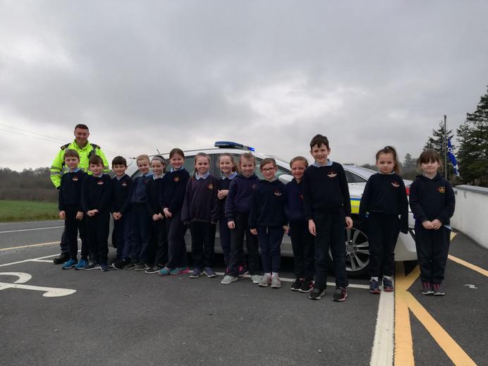 Visit from Community Garda Mick Toland