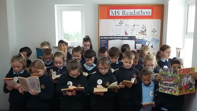 MS Readathon has begun!
