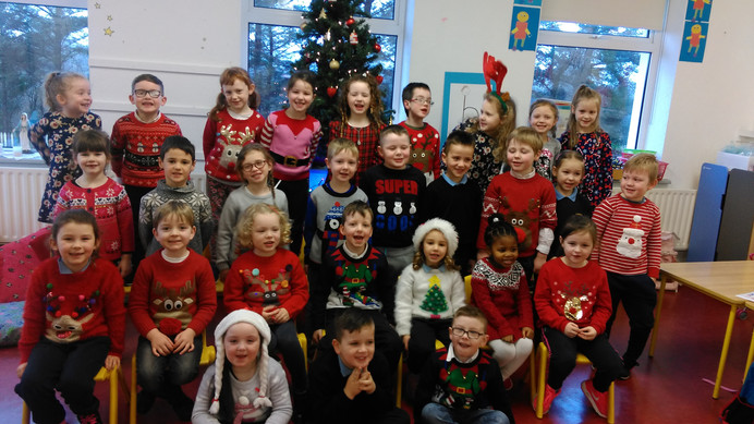 Merry Christmas from all Infants in Derrywash