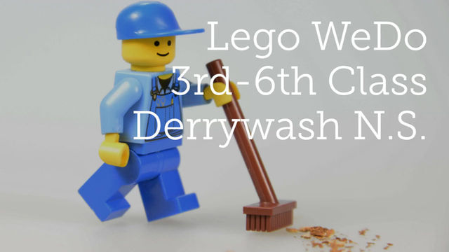 Exploring Lego WeDo