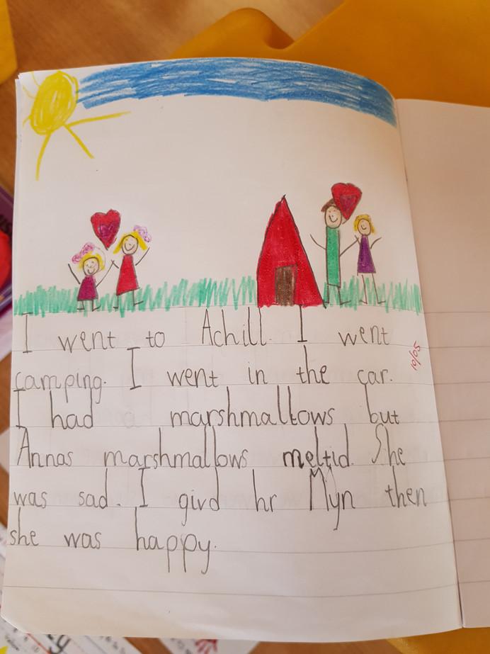 Story Writing in Senior Infants
