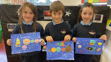 Solar Systems in Art