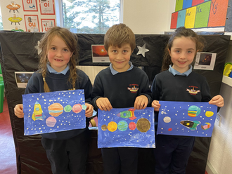 Solar Systems in Art
