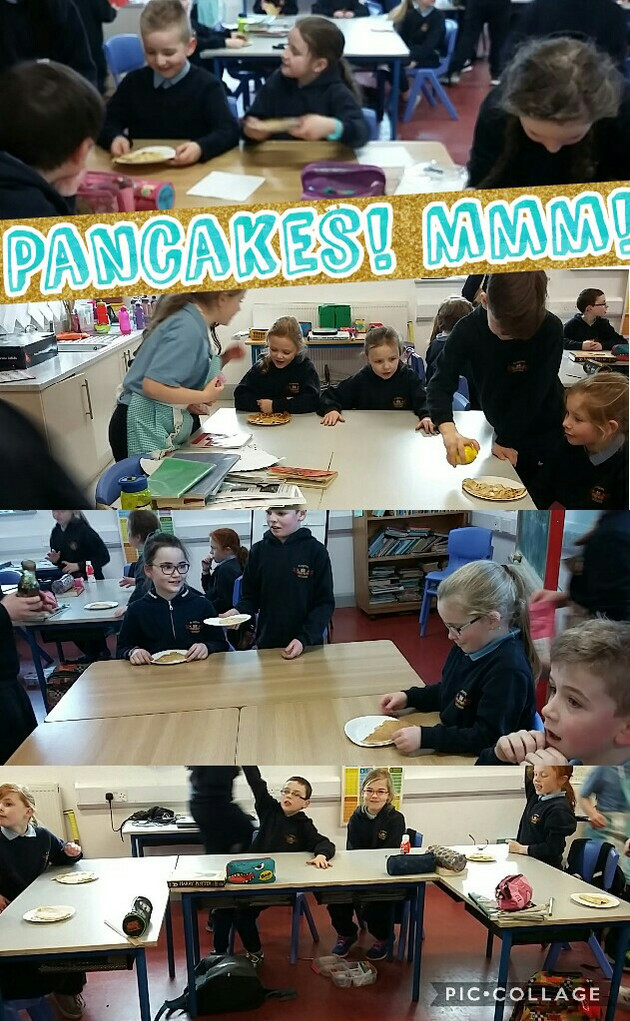 Pancake Tuesday in 2nd & 3rd