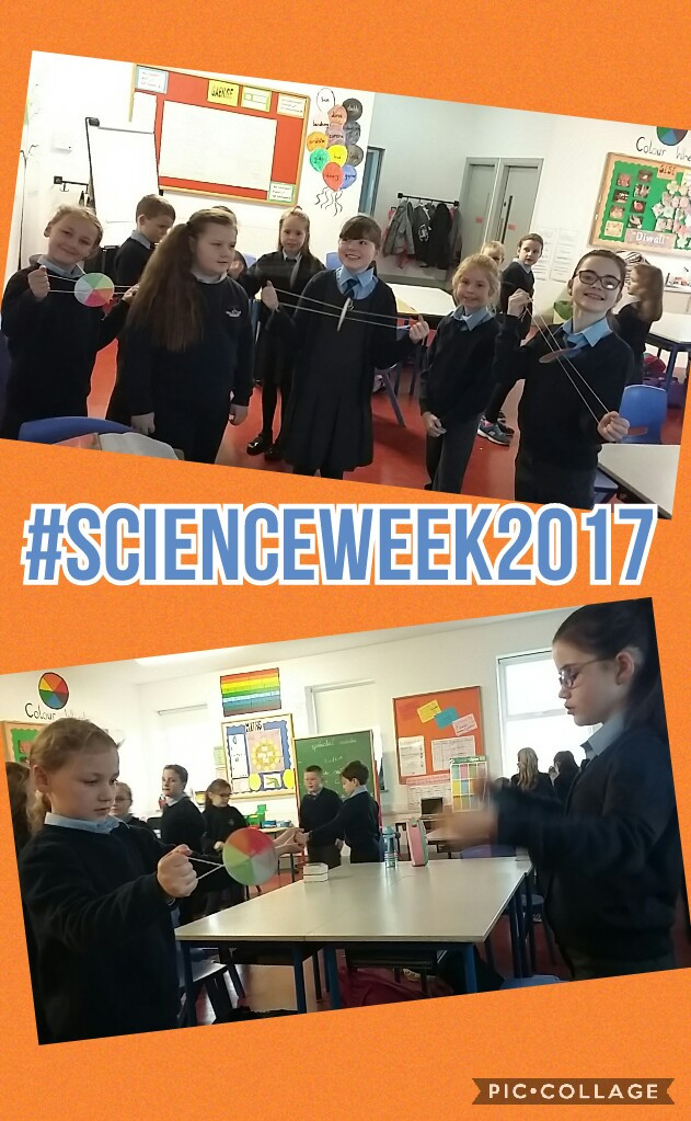 Science Week in 3rd Class