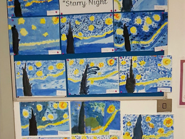 3rd and 4th Class Van Gogh's