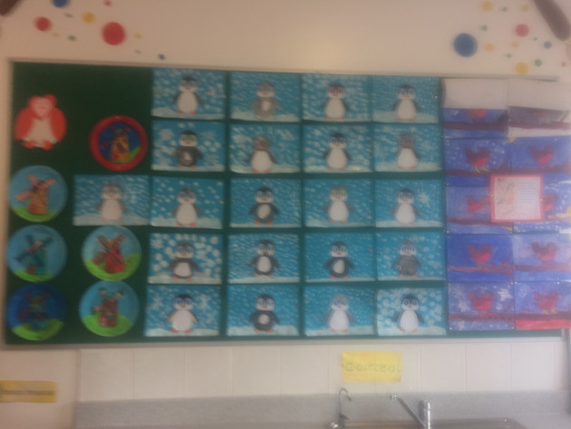 Our Penguin Display!