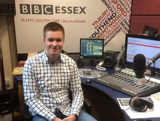 Youth Panel Member, Joe, Discusses Stammering on BBC Essex!