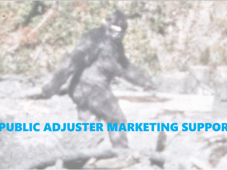 Does Public Adjuster Marketing Support Exist?