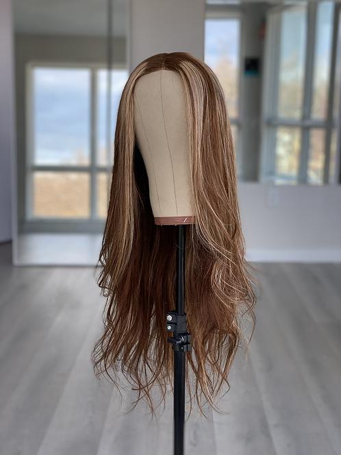Highlight Blonde Closure Wig