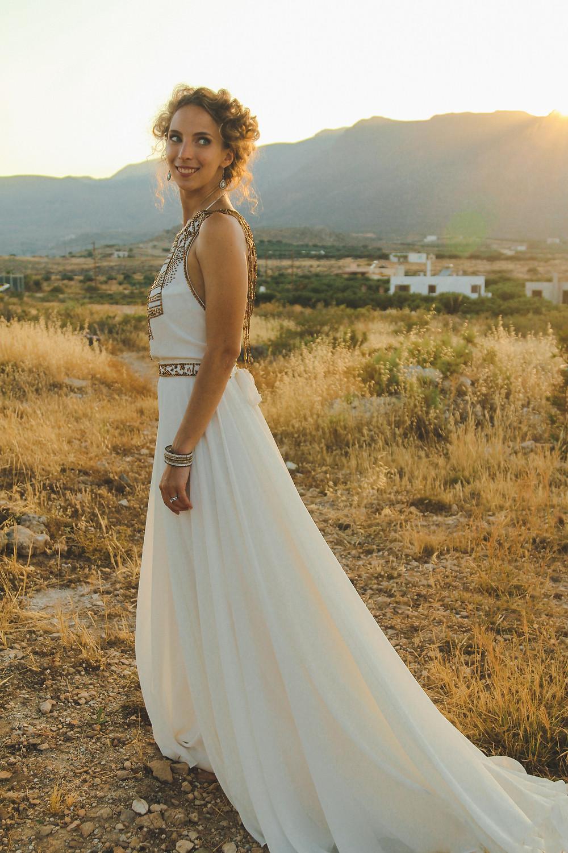 Perfect Wedding Dress for a Greek wedding