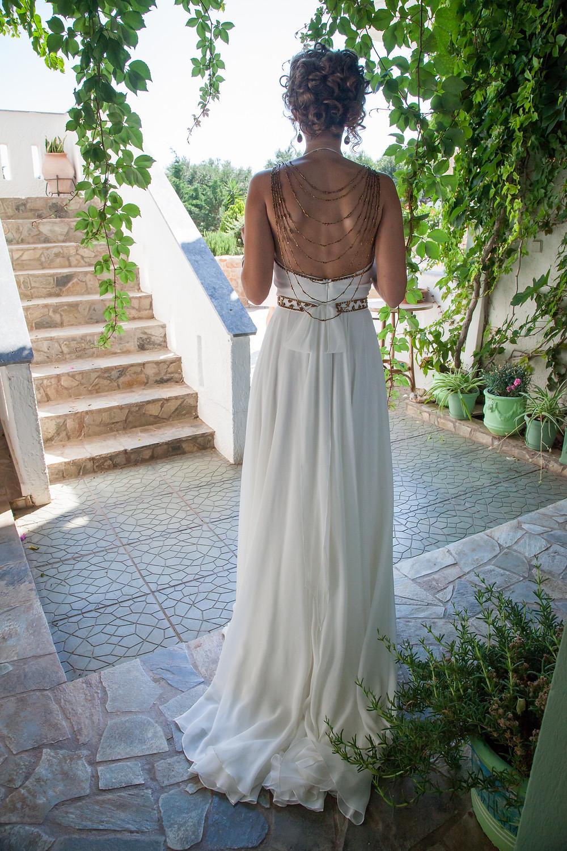 My Greek Goddess wedding dress