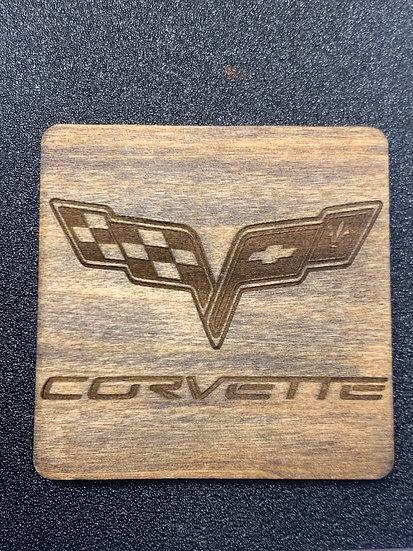Car Logo Coasters Any Make or Model Logo