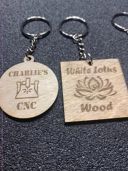 Custom Company Logo Keychains