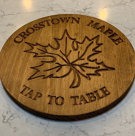 Business Plaque Sign Carved Wooden Business Plaque (Customizable)