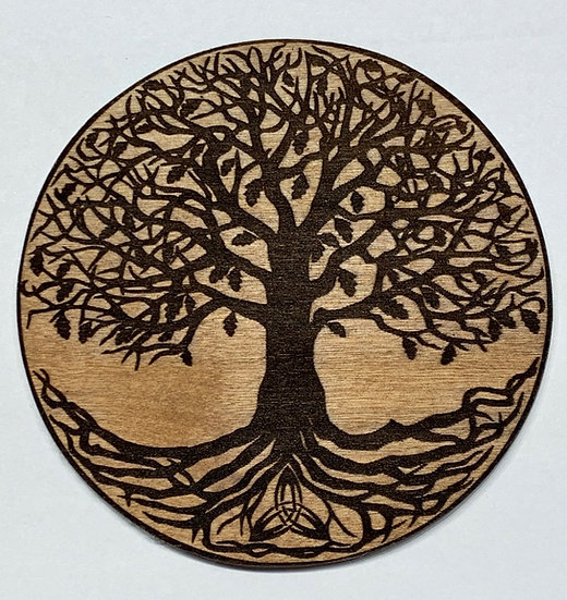 """Tree of Life Laser Engraved Wooden """"Tree Of Life"""" Board"""