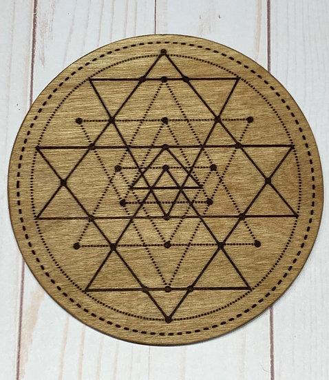 Crystal Grid Sacred Geometry