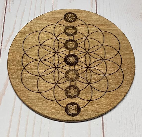 Crystal Grid Chakra Seed of Life