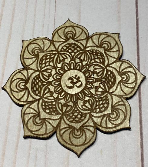 Om Mandala Coasters
