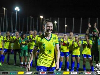 Brasileira Jéssica Getúlio é eleita a melhor jogadora de Futebol 7 do mundo