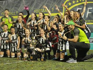 Figueirense/ Paula Ramos conquista o tricampeonato Mundial em Roma