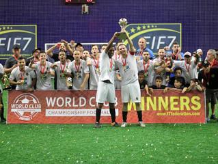 CAJA (Brasil) conquista o título mundial de clubes de futebol 7