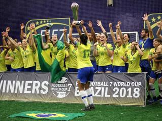 Confira a programação da Copa do Mundo de Futebol 7