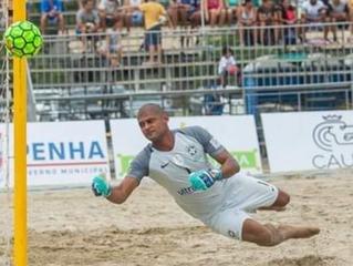 Mão o goleiro multicampeãocriouprojeto social de Futebol 7 no Espírito Santo