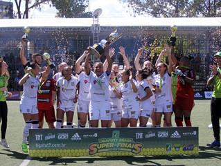 LIGA FUT7. Figueirense / Paula Ramos (SC) conquistou o título nacional de futebol 7