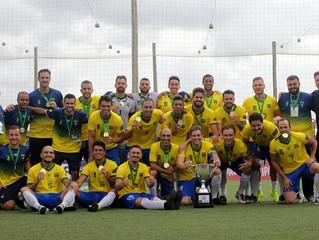 Brasil é bicampeão da Copa América de Futebol 7 na categoria masculina