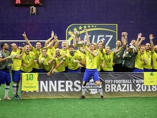 Brasil conquista a Copa do Mundo de Futebol 7